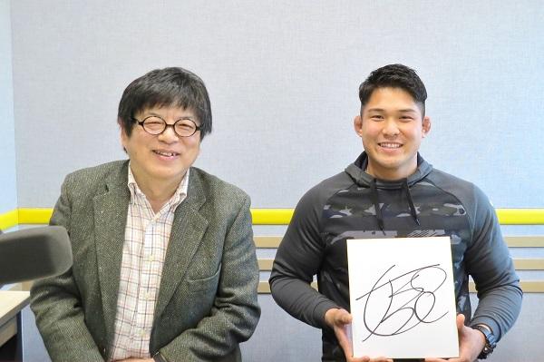 1月6日放送の「藤島大の楕円球にみる夢」。ゲストは姫野和樹!