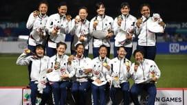 アジア競技大会Vの女子セブンズ日本代表、日本スポーツ賞競技団体別最優秀賞を受賞。