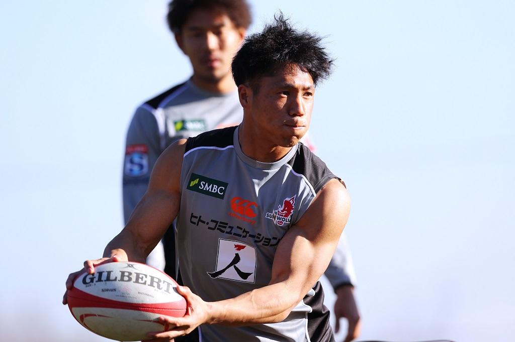 ラグビー日本代表候補、始動。山沢拓也が整える身体と技術。