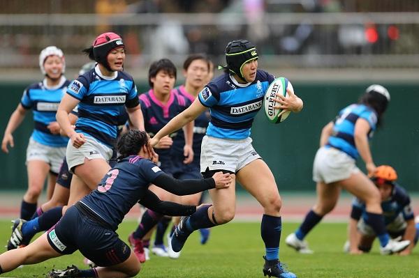 雨中の熱戦制し、日体大が2年続けて女子日本一! セブンズとの2冠獲得。