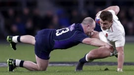 イングランド×スコットランドは38-38。今季6か国対抗最終戦はまれにみる熱戦。