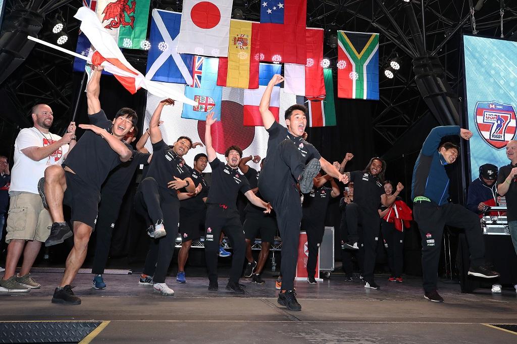 男子7人制日本代表も盛り上げるぞ! ラスベガスセブンズ開幕