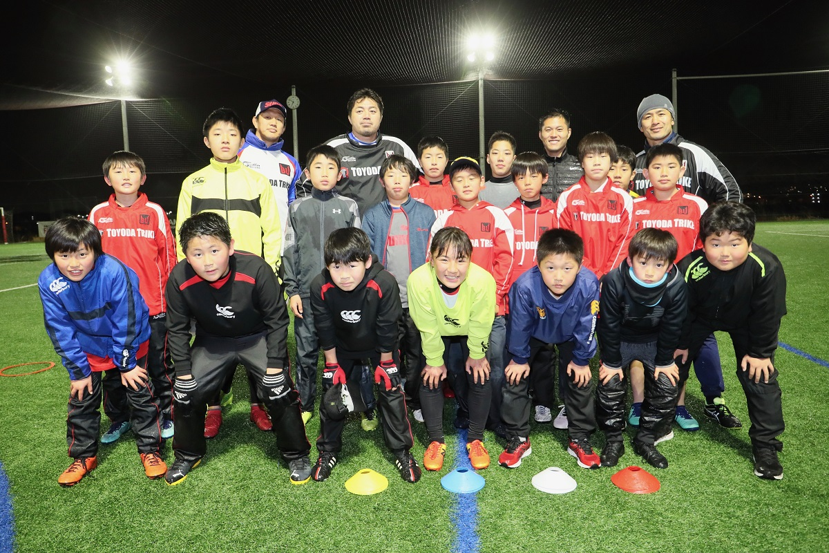 レジェンドが直接指導するラグビーアカデミー新たに2校開校へ。菊谷コーチ語る。
