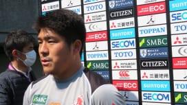 「10番」での日本代表入り目指すサンウルブズの松田力也、「未来につながる結果を」。