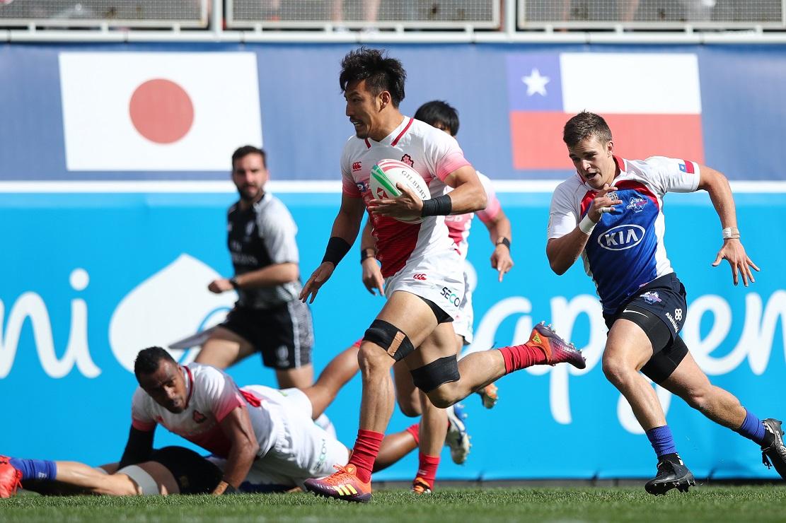 USAセブンズ 日本はチリ倒すもケニアに敗れ13位以下トーナメントへ