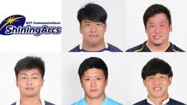 NTTコムに明大のPR齊藤剣、SO松尾将太郎など5選手が新入団