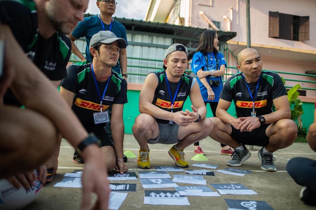 アジアの子どもと若者にラグビーを通じて遊びと学びと成長を