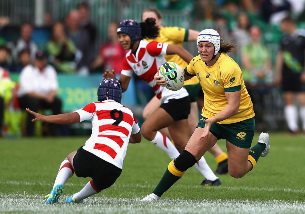 女子15人制日本代表、7月に世界ランク6位の女子オーストラリア代表と対戦決定!