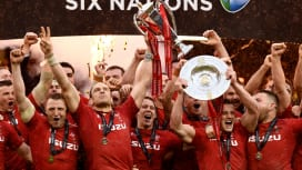 ウェールズが6年ぶりに欧州王座奪還! アイルランドに快勝でグランドスラム達成