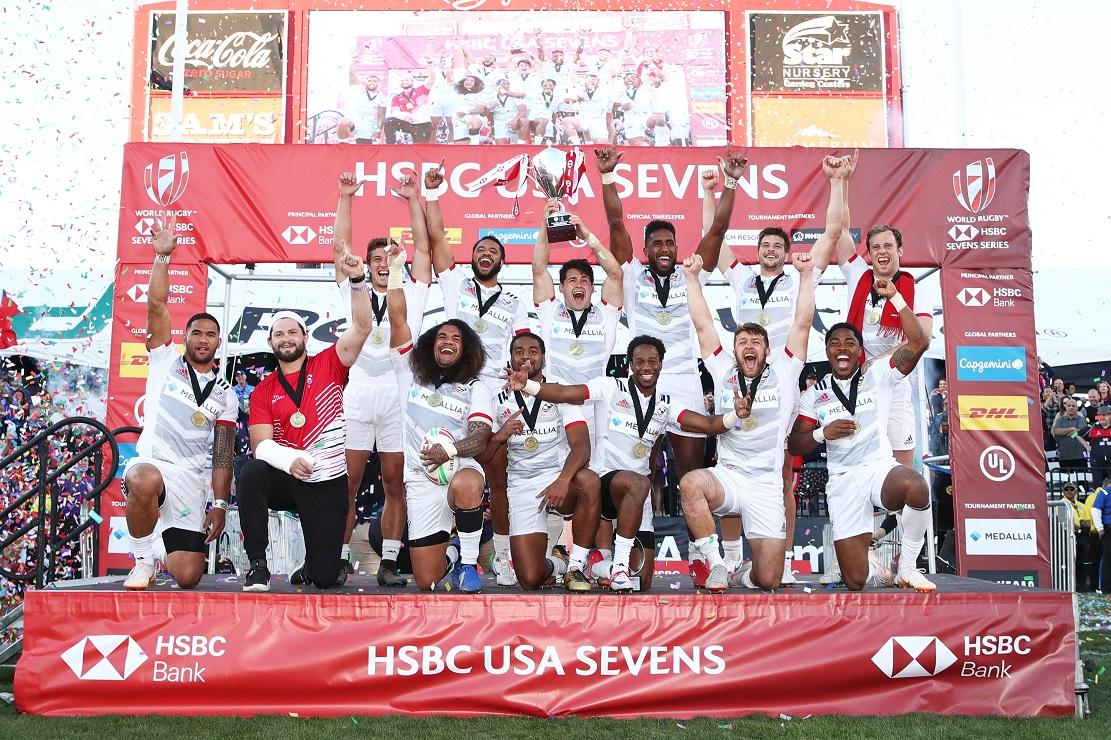 アメリカがついに頂点獲った! 地元で優勝しワールドセブンズシリーズ総合首位に浮上