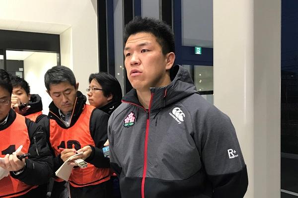 「いちばん下にいる」。日本代表候補合宿に合流の立川理道、這い上がる。
