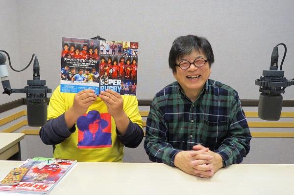 今月のラジオNIKKEI「藤島大の楕円球にみる夢」(3月3日)は『歌』に注目!