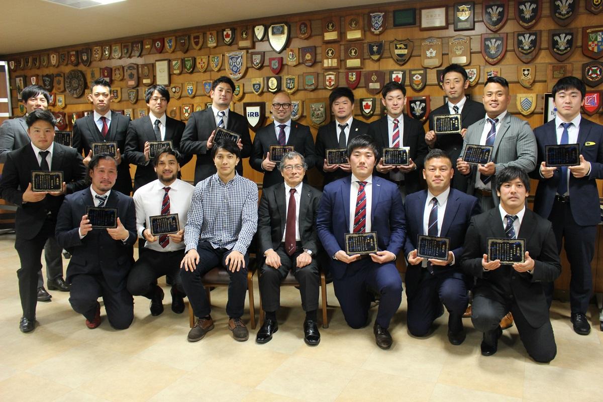 東日本トップクラブリーグ年間表彰式 北海道バーバリアンズなどが受賞