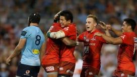 サンウルブズがオーストラリアで初歓喜! 元王者ワラターズ倒した!