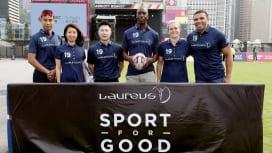 スポーツ界のスターたちも香港セブンズを満喫