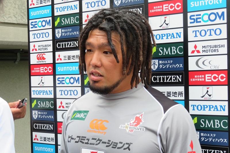 スーパーラグビー今季初出場へ。サンウルブズ堀江翔太・初代主将、「必死」に適応中。