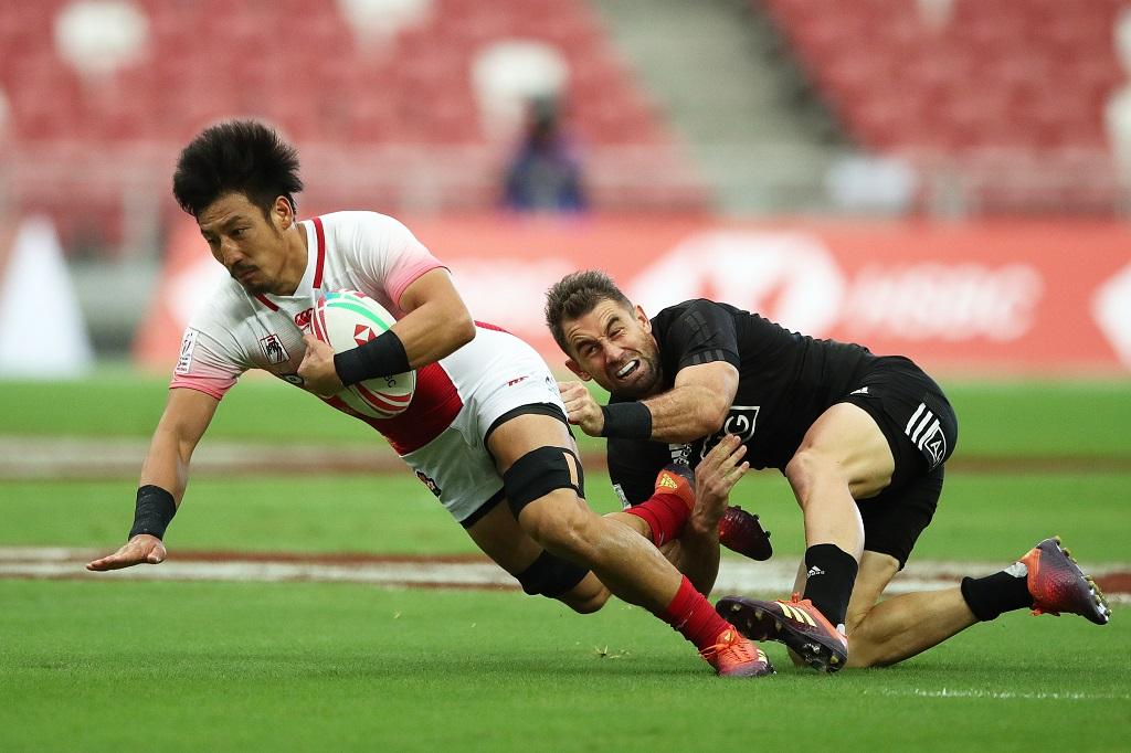 シンガポールセブンズ 日本はスペイン下すもプール戦2敗で8強入りならず