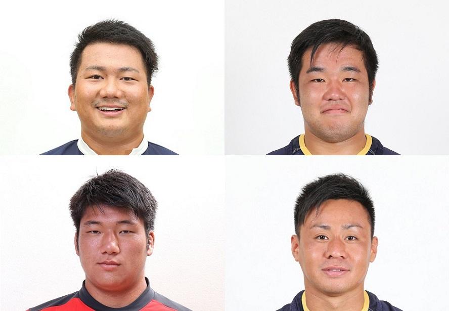 NTTドコモレッドハリケーンズに帝京大出身の藤田達成ら4選手が加入