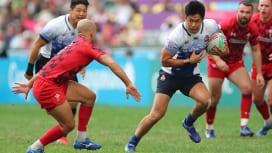 【香港セブンズ】ウエールズ撃破。男子セブンズ日本代表、今大会初勝利。