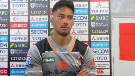 ラファエレがサンウルブズで復帰。日本代表入り争いへ「負けないように」。