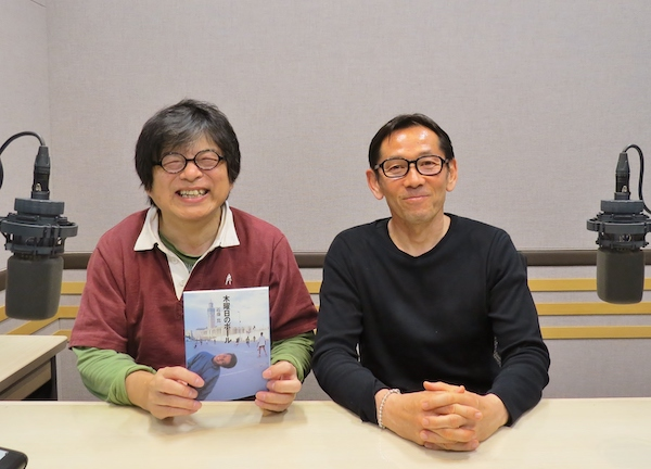 今晩の「藤島大の楕円球にみる夢」のゲストはフォトグラファー、近藤篤さん。