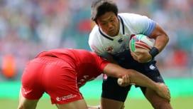 ロンドンセブンズ初日、日本は3連敗。ウェールズ、ケニアと必死の残留争い。