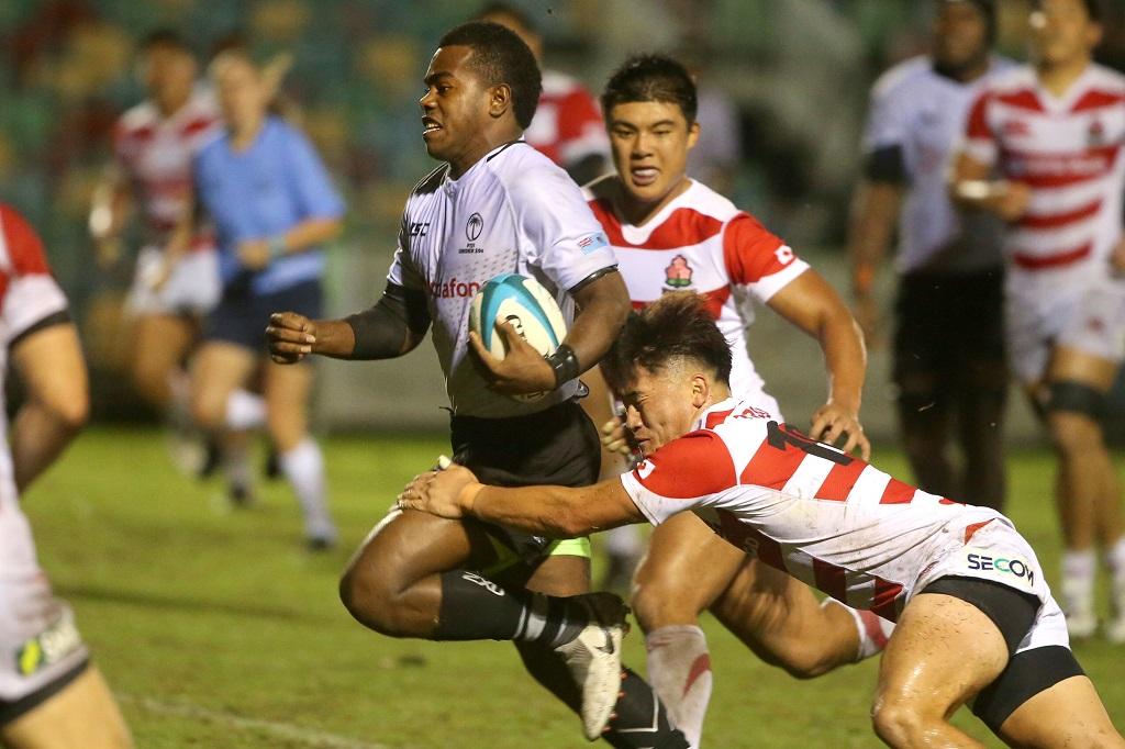 U20日本代表、前半は27-28もフィジーに9T許し敗戦。3戦全敗で大会終える。