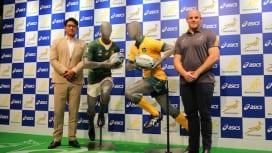 職人技満載。オーストラリア代表と南アフリカ代表の新ジャージーは優れもの。