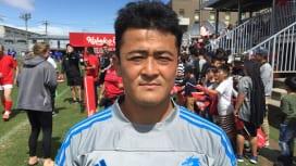 6月22日開幕のトップリーグカップで「おもしろいラグビーをします。ぜひ会場に」。神戸製鋼・日和佐
