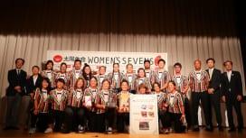 濃霧! 太陽生命女子セブンズ富士山裾野御殿場大会2日は中止も、『ながと』が年間王者に。