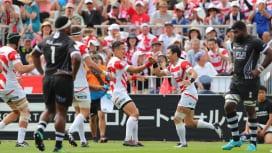 W杯へ向け自信となる大きな勝利 日本が強敵フィジー倒した!