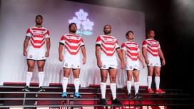 2019日本代表ジャージー発表! コンセプトは「兜(かぶと)」