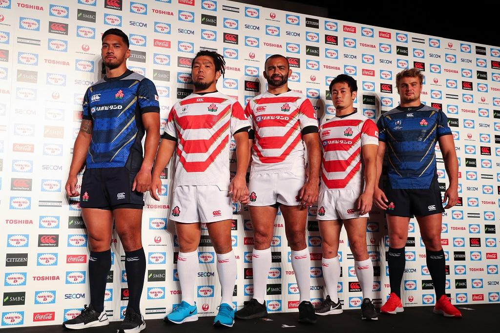 ラグビーワールドカップ2019 日本代表新ジャージー発表