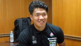 U20日本代表の福井主将、パナソニックのディーンズ監督からもらった言葉。