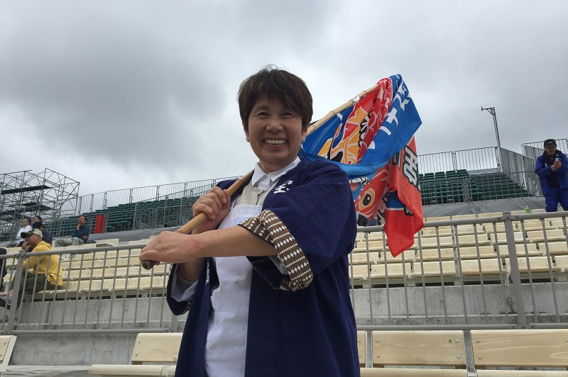 ラグビーのまちで良かった。釜石の旅館「宝来館」女将、岩崎昭子さん