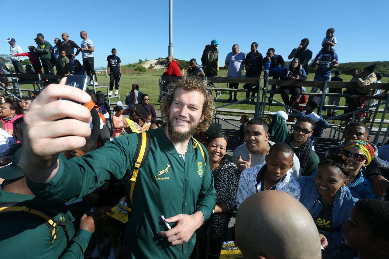南アフリカ代表が目の前に。ワールドカップ直前、鹿児島へ。