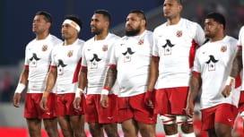 トンガ代表の胸に「入ル」の文字。W杯へ挑む男たちとスポンサーの幸せな関係。