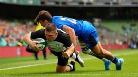 【日本のW杯ライバル】 アイルランドはウォームアップでイタリアに勝利、サモアはフィジーに惜敗。