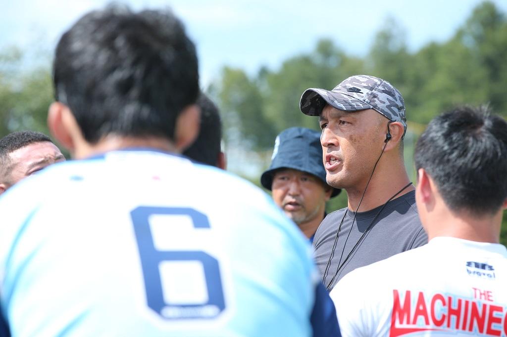 中大ラグビー部にスピード革命。遠藤哲HC&里大輔氏がタフに走らせる。