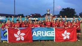 2019アジアラグビーU20セブンズ 香港が男女優勝