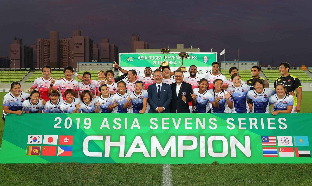 セブンズ日本代表、男女そろって優勝飾る。アジアシリーズ韓国大会