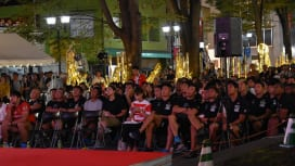 W杯戦う15人制日本代表にセブンズ日本代表の小澤大主将がエール