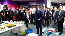 安倍総理もラグビー日本代表を激励 リーチ主将「盛り上がりをすごく感じる」