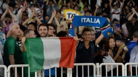 悲願のワールドカップ8強入りへ。イタリアファンの期待高まる