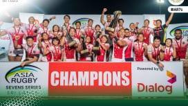 アジアセブンズシリーズ2019は男女とも日本が総合優勝 スリランカ大会もWで金