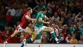 大敗から復活したアイルランド カーディフで世界ランク1位ウェールズ倒す