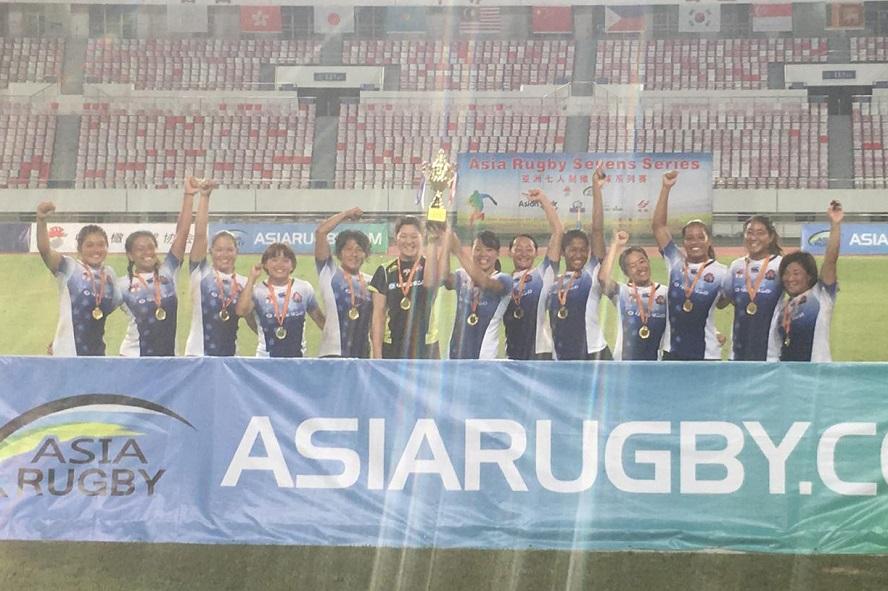 アジアセブンズシリーズ第2戦・中国大会 女子日本は延長戦制し優勝! 男子日本は3位
