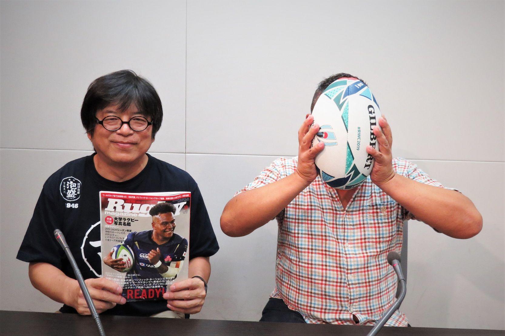 ラジオNIKKEI「藤島大の楕円球に見る夢」は今晩!(9月1日) W杯を展望します。