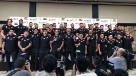 ラグビーワールドカップ2019 日本代表総括会見。最高の仲間、思い出、感謝、未来…。