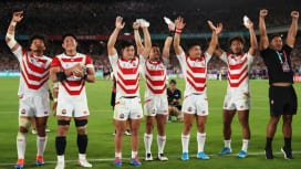 W杯準々決勝の対戦カード決定! 日本は南アと激突、3連覇狙うNZはアイルランドと